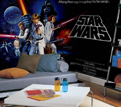 Thewallmuralstore Com Full Size Large Wall Murals Star Wars Wall Mural By Roommates