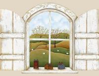 A Homestead Window Mural 252-59124