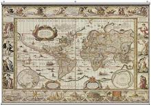 Antique Map 1  Minute Mural 121221