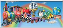 Alphabet Train  Minute Mural 121738