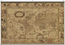 Antique Map 2 Minute Mural 121222