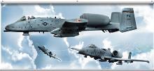 A-10 Warthog Mural Minute Mural OA9571M