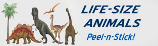 Walls of the Wild Life-size Peel and Stick Animals